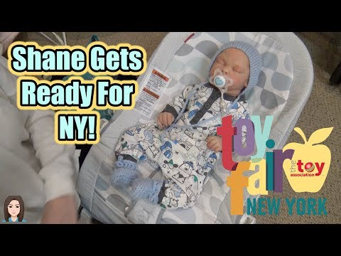 Reborn Baby Shane Gets Ready For NYC! | Kelli Maple