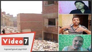 """بالفيديو..الموت يهدد حياة 15 أسرة بدار السلام: """"البيت هيتطربق علينا وإحنا نايمين"""""""