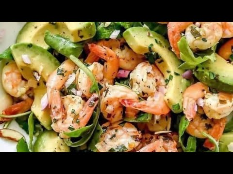 Cook Healthy With Me! Citrus Avocado Shrimp Salad