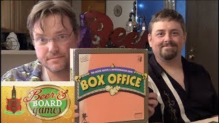 Box Office Movie Impressions Game | Beer and Board Games