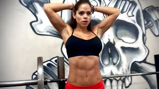 MICHELLE LEWIN Workout: Hardcore Ab Motivation