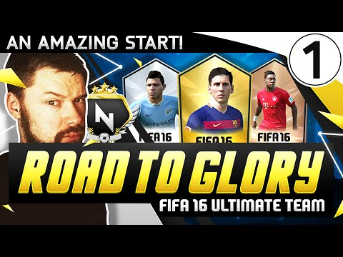 A BRAND NEW START! - FUT ROAD TO GLORY #01 - FIFA 16 Ultimate Team