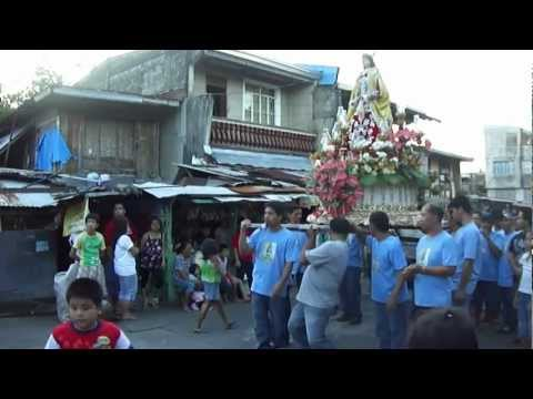 2012 All Saints Procession, Nagcarlan, Laguna PH.