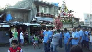 2012 All Saints Procession, Nagcarlan, Laguna PH.