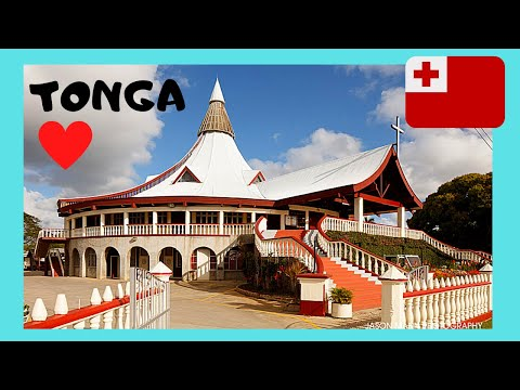 TONGA, the magnificent Basilica of St. Anthony of Padua in NUKUALOFA