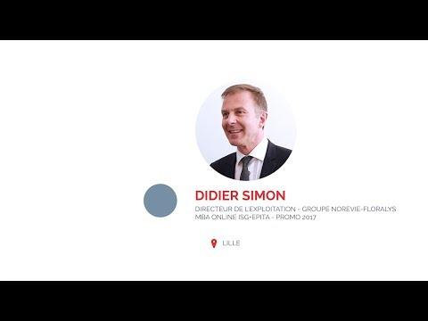 Didier S. acquiert des compétences numériques grâce au MBA online ISG+Epita