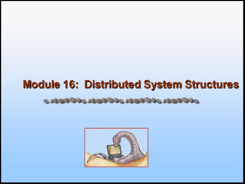 Operating System: Distributed System Structures