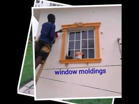 Windows And Door Molding In Jamaica Concrete And Foam Interior And Exterior Part 90