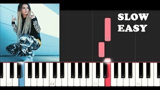 how to play zhavia candlelight slow easy piano video, how to