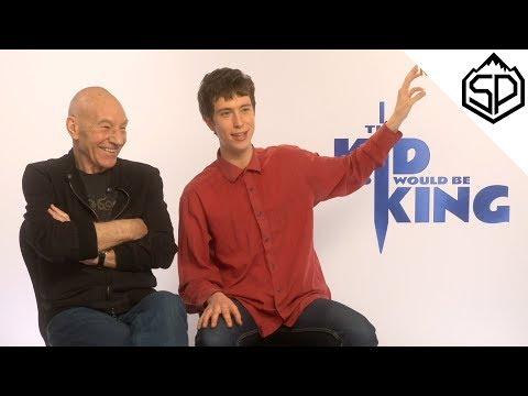 Интервью с кастом фильма «Рождённый стать королём»
