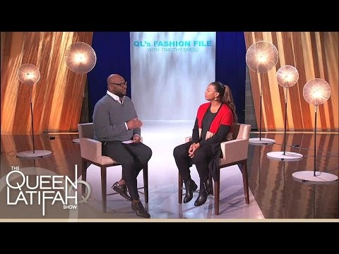 Timothy Snell Gives Style Advice For Curvy Women | The Queen Latifah Show