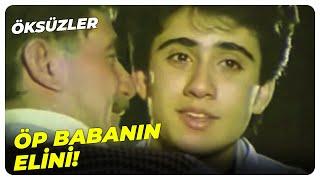 Emrah, Üvey Babasını Affetti  Öksüzler - Küçük Emrah Eski Türk Filmi