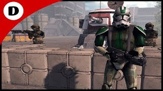 COMMANDER GREE'S STRONGHOLD DEFENSE - Men of War: Star Wars Mod