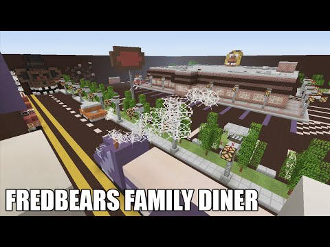 Minecraft | Fredbears Family Diner - Hide and Seek Map (Minecraft Xbox)