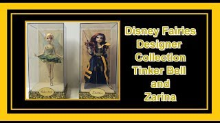 Disney Fairies Designer Collection Tinker Bell & Zarina