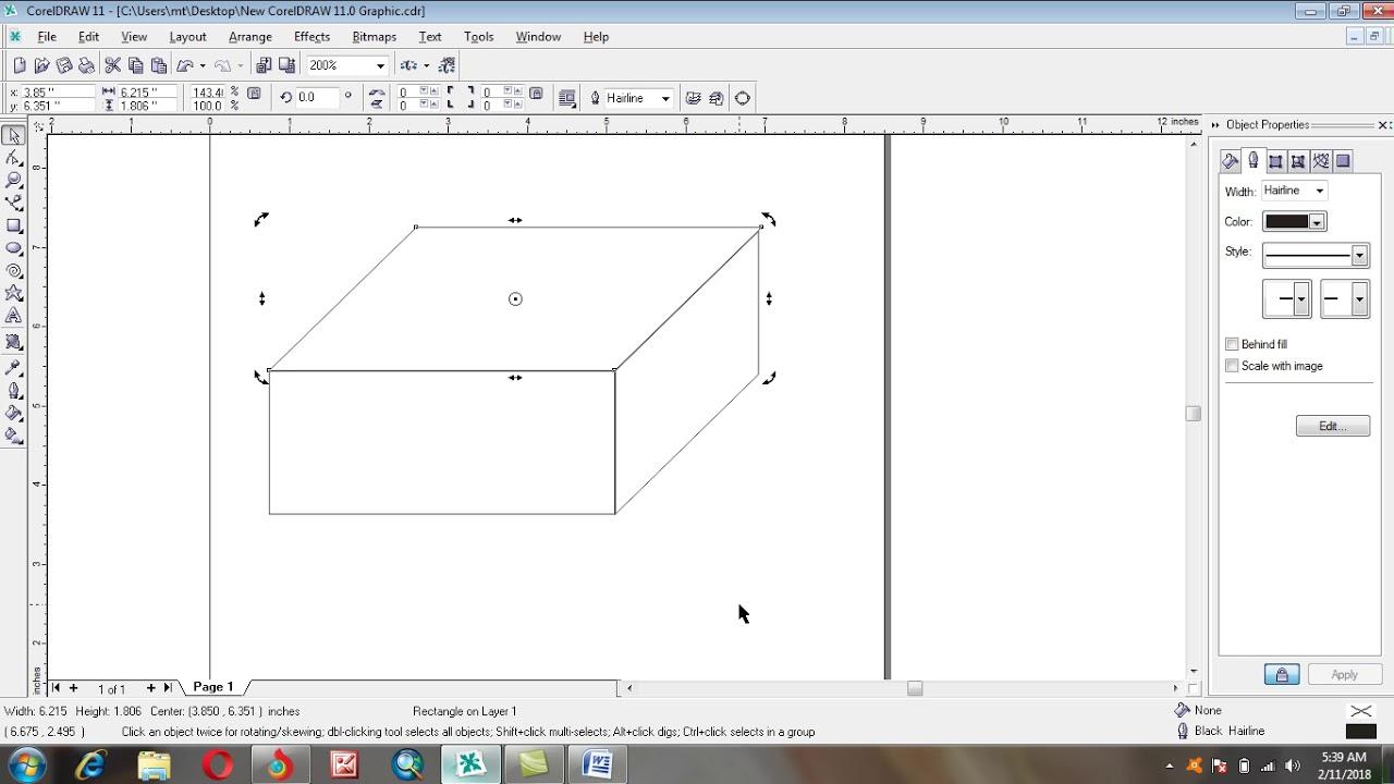 3D diagram in Corel Draw - YouTube [ 720 x 1280 Pixel ]