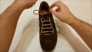 Original Ways of Lacing Shoes