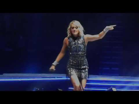Carrie Underwood, Easton Corbin & The Swon Brothers - Mountain Music - Nashville, TN 9/22/16