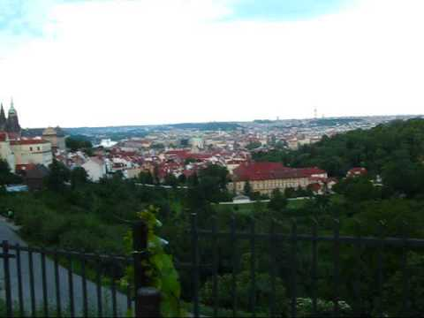Prague Travel: Great View over City from Petrin Hill & Strahov Monastery
