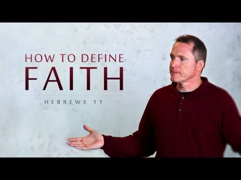How to Define Faith - Tim Conway