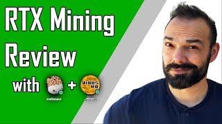 RTX Mining Experiment - zotac 2080 blower - PART 1