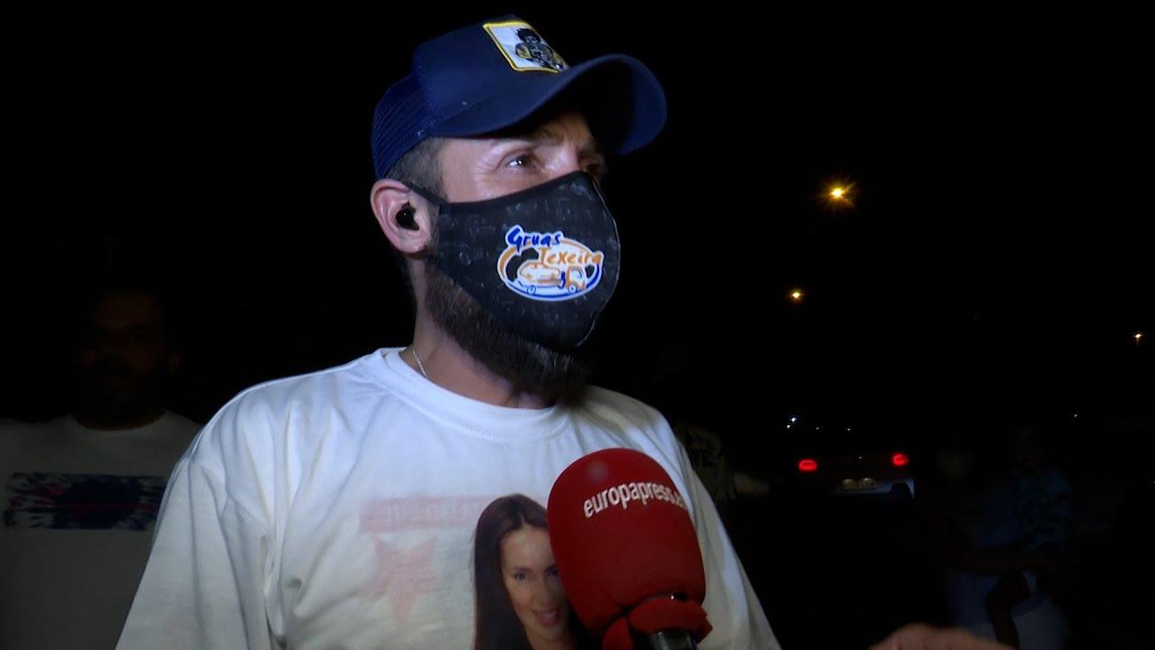 Antonio David reaparece para celebrar la victoria de Olga Moreno en 'supervivientes'