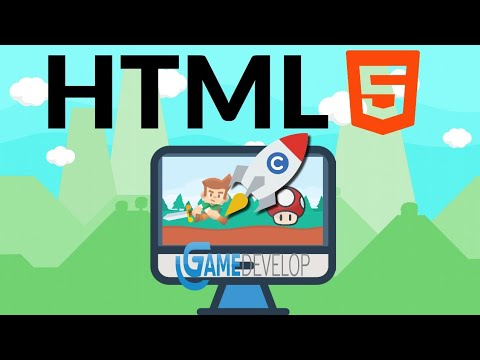 EXPORT YOUR GAME AS HTML 5 IN GDEVELOP 5