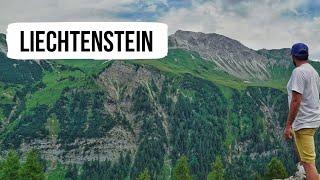 LIECHTENSTEIN ( Hiking at the Rappenstein trail)