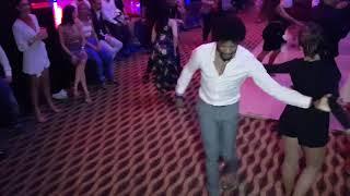 Terry and Ozlem social salsa dancing @ Fujairah festival