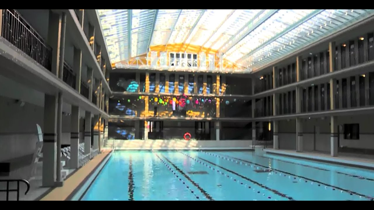 Engie axima quipe l 39 h tel piscine molitor en cvc youtube for Piscine molitor hotel