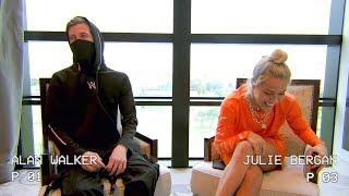 Julie Bergan - Q&A with Alan Walker (With English Subtitles)