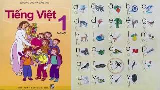Sách Tiếng Việt lớp 1   dạy bé đọc bảng chữ cái   PA channel