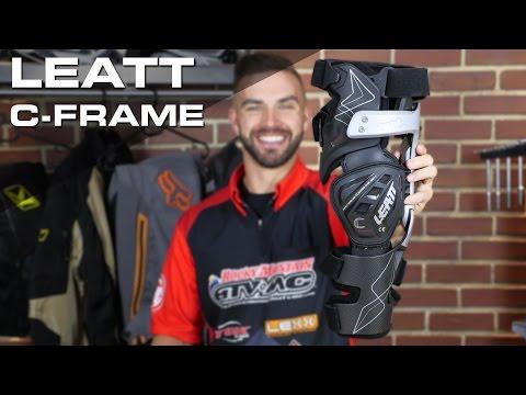 Leatt C-Frame Motocross Knee Brace Review