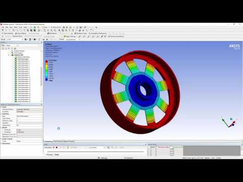 How to setup Cyclic Symmetry model in ANSYS Workbench Mechanical
