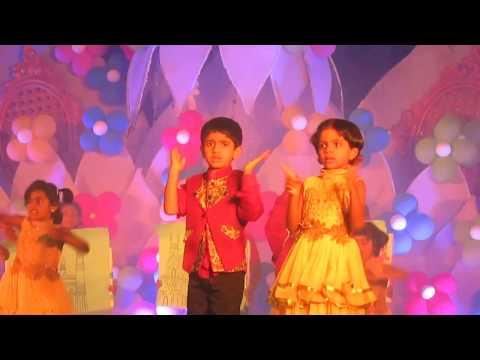 Dhiya school annual day dance - Cute Island International school