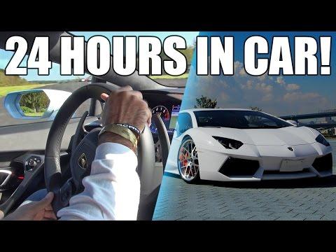 24 HOURS OVERNIGHT IN A CAR ⏰   DRIVE THRU PRANKS   ASIAN CANDY TASTE TEST   CARPOOL KARAOKE!!