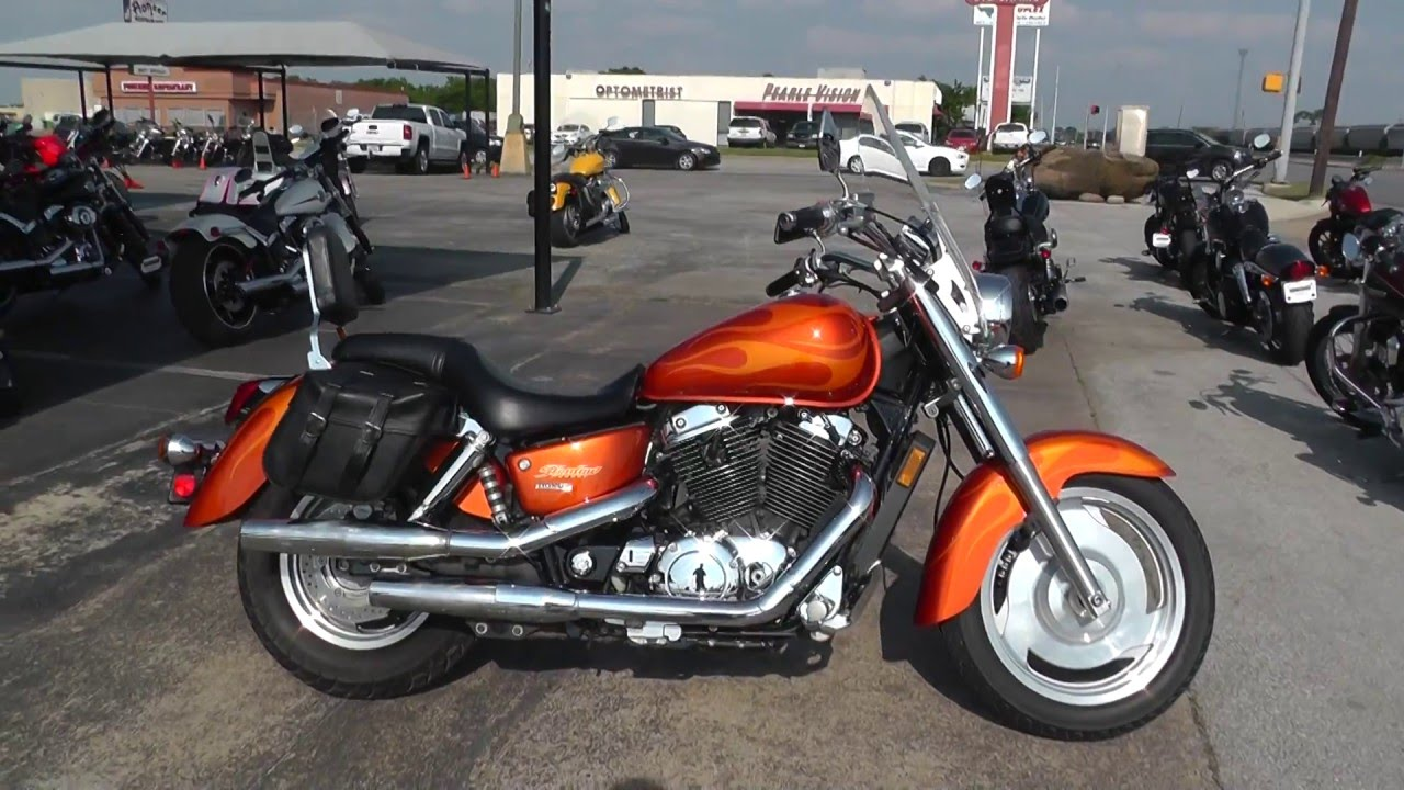hight resolution of 203265 2002 honda shadow sabre vt1100c2 used motorcycle for sale