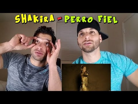 Shakira - Perro Fiel (Official Video) ft. Nicky Jam [REACTION]