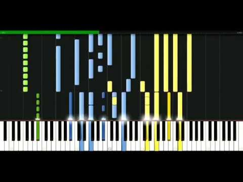 Moby - Dream about me [Piano Tutorial] Synthesia   passkeypiano