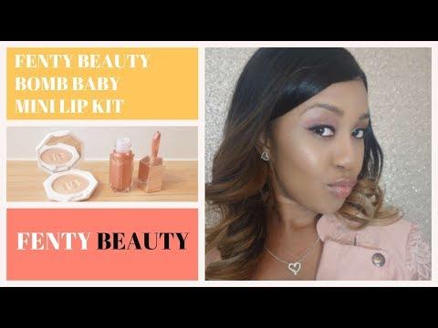 Bomb Baby Mini Lip And Face Set by Fenty Beauty #7