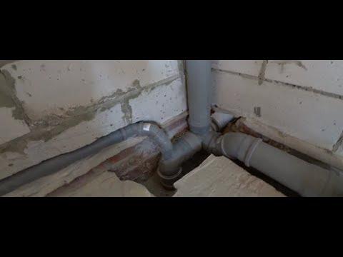 Канализация в частном доме.Как сделать штробу в газосиликате.