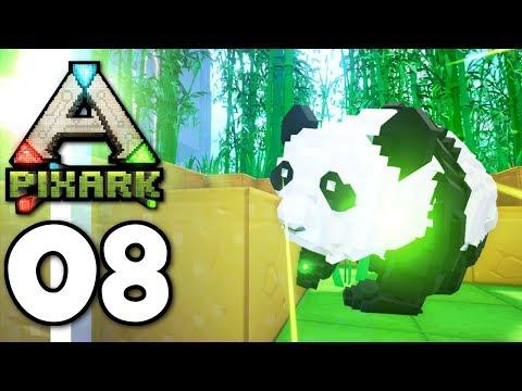 PixARK ▫ Can You Tame A Panda? (Ep.08)