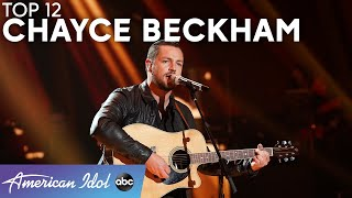 """Chills! Chayce Beckham Covers """"What Brings Life Also Kills"""" - American Idol 2021"""