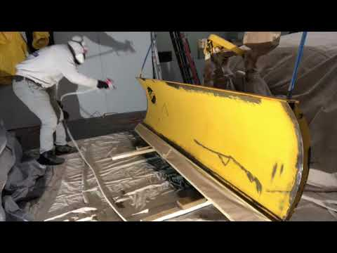 Refurbishing Fisher Plow