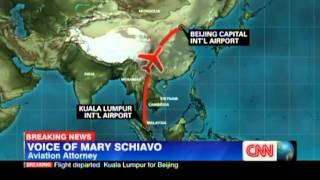 CNN::MAS Boeing 777-2H6 (9M-MRO) Missing KUL-PEK #4 [8Mar2013]