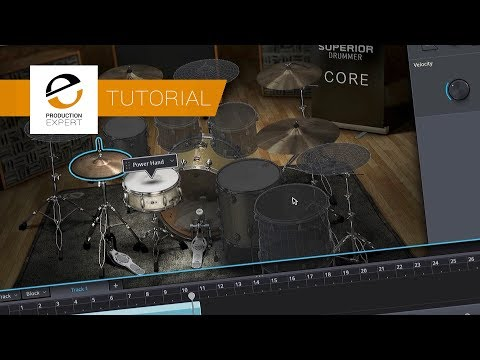 Free Tutorial - How To Get Drums Parts Down Fast Using Toontrack Superior Drummer 3