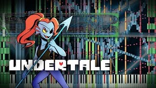Synthesia: Undertale - Battle Against a True Hero | 100,000 Notes | Black MIDI