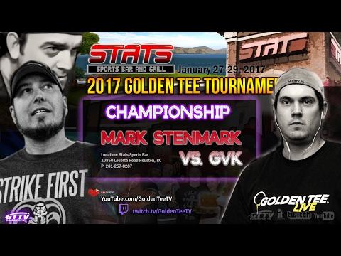 GTTV - 2017 STATS Golden Tee Tournament Finals - Mark Stenmark vs. GVK