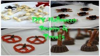 DIY Halloween Treats & Snacks  | Jessiker Bakes Thumbnail