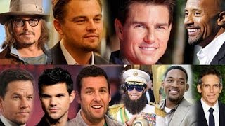 Highest Gross Paid Actors in Hollywood | Top 5 Battle